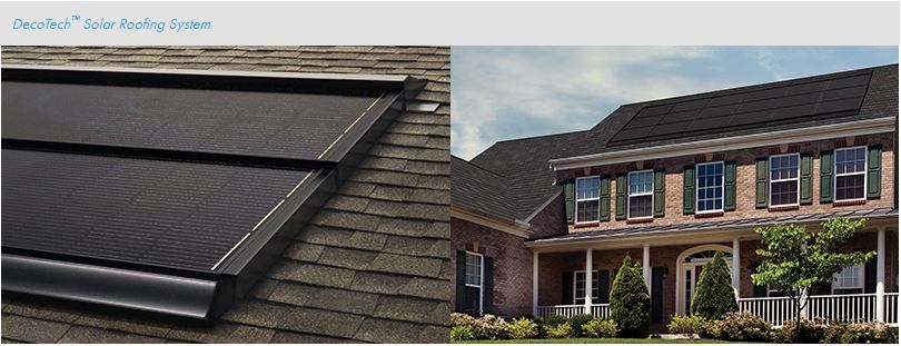 State Roof & SolarDecoTech Solar Roofing System